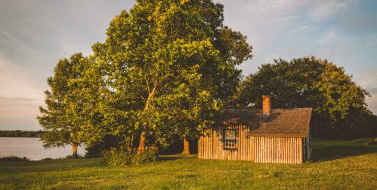 Grant's Cabin at Appomattox Manor