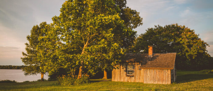 Grant's Cabin at Appomattox Manor