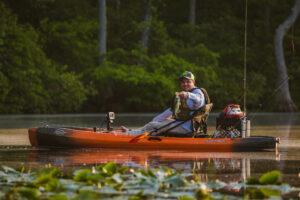Kayaking on the James River
