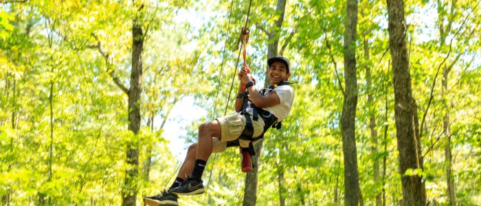 Tree Top High Ropes Course