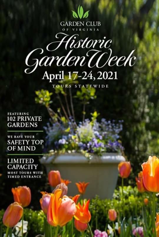 Historic Garden Week Virginia