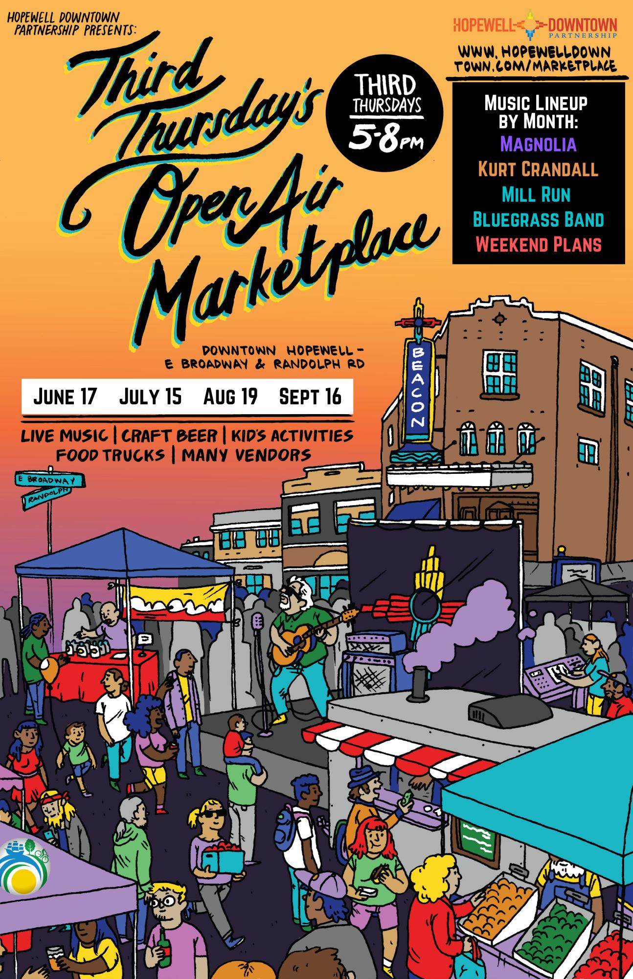 Third Thursday Open Air Marketplace